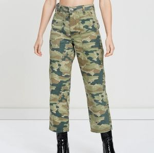Free People Remy Camo cropped jeans